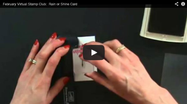 Feb Rain or Shine Card