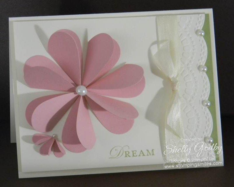 Heart Flower Card