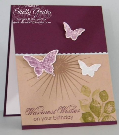 Stamping Smiles 2014-2015 Exclusive Kinda Eclectic Birthday You Card