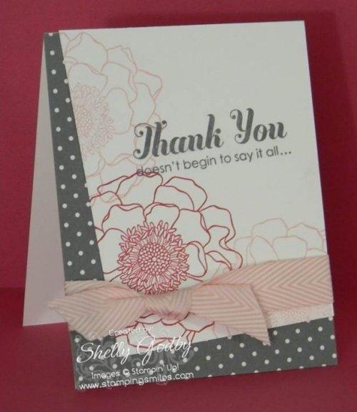 Blended Bloom Card
