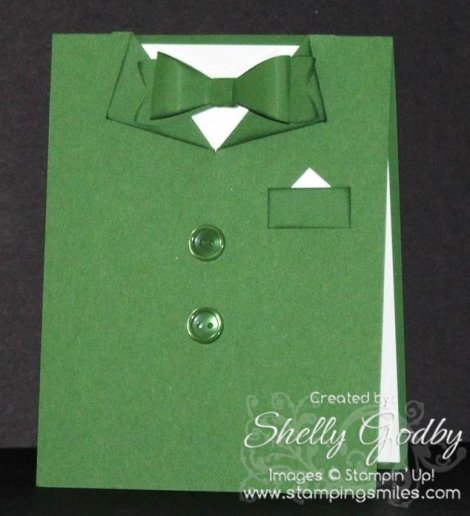 Leprechaun Suit Card