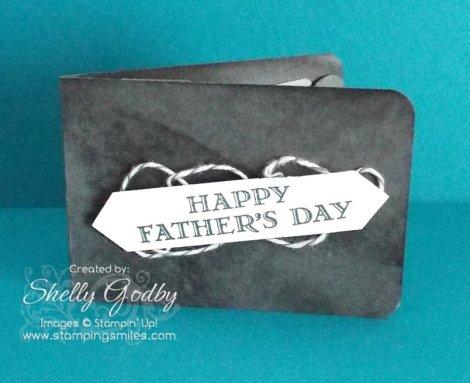 Man's Wallet Gift Card Holder